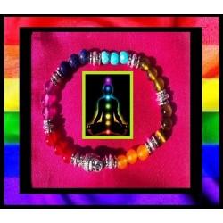 bracelet 7 chakras pur bonheur