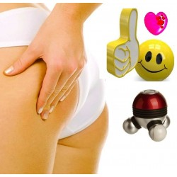 3 MASSEUR BOULES VIBRANTES ANTI CELLULITE & STRESS A LED