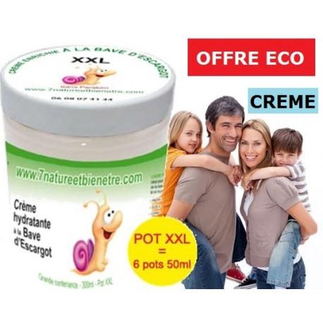 Crème hydratante d'escargot XXL