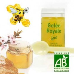 Pot de Gelée Royale Bio - Production 100% Française