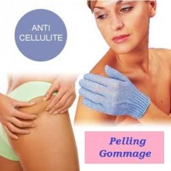 Gant de Massage Anti-cellulite pour Savon Noir Peeling