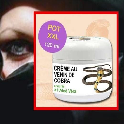 Lot de 2 Crèmes Liftante au Venin de Cobra enrichie à l'Aloé Véra